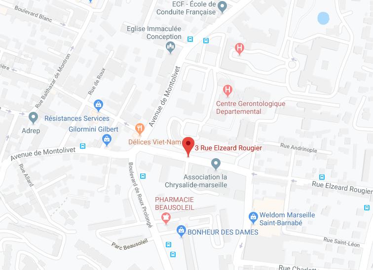 APPT AU 3EME ETAGE DE 61,66 M2 ET UN EMPLACEMENT DE PARKING EXT À MARSEILLE (13012)