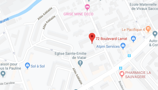 APPT DE TYPE 3 DE 55,56 M2 AU 3EME ETAGE ET UNE CAVE À MARSEILLE (13010)
