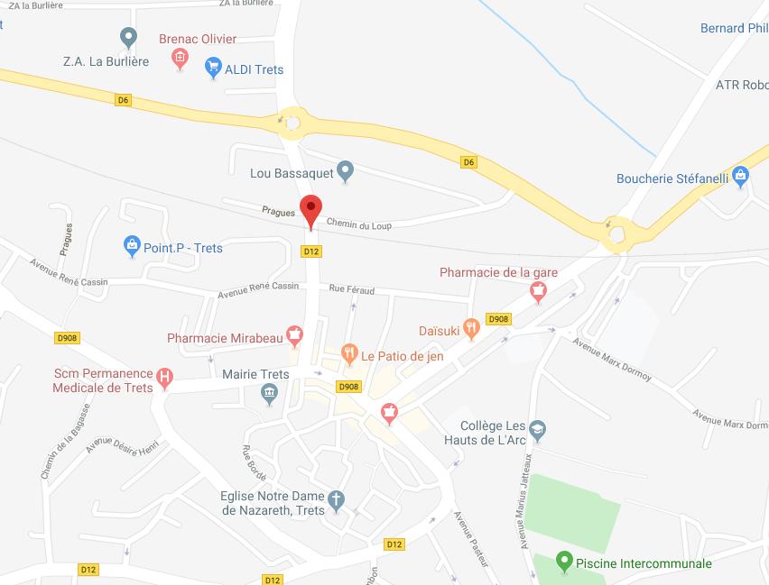MAISON DE 53,05 M2 ELEVEE D UN ETAGE SUR RDC À TRETS