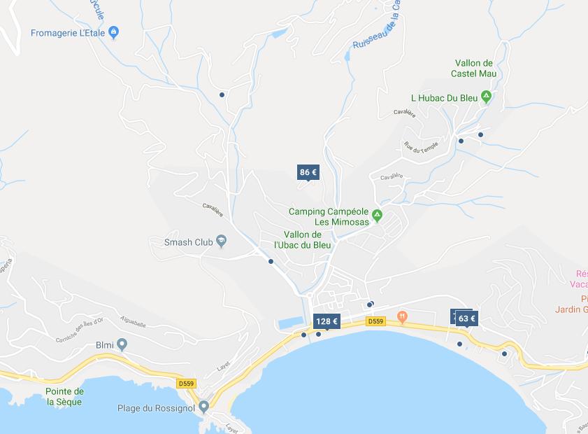 MAISON ANCIENNE RÉNOVÉE ÉLEVÉE DE 2 NIVEAUX SUR RDC DE 568,30 M2 ET TERRAIN ATTENANT À LAVANDOU (83980)
