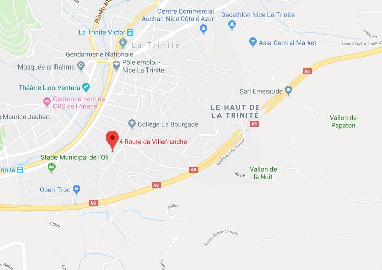 APPT DE 4 PIÈCES AU 1ER ETAGE DE 77,88 M2, GRENIER, PARKING RDC À LA TRINITÉ