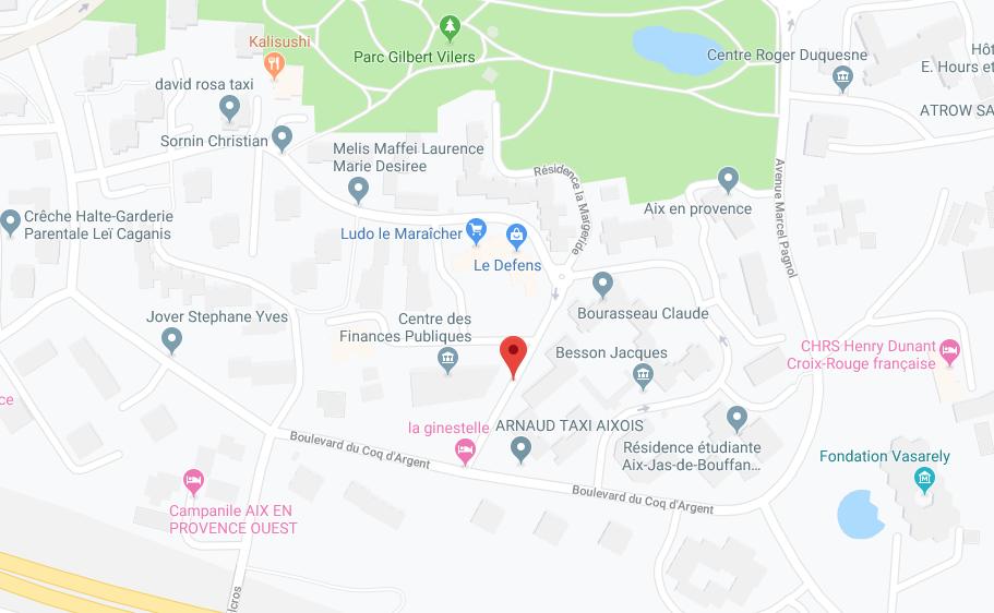 APPT DE 28,85 M2  AVEC JARDIN PRIVATIF À AIX EN PROVENCE