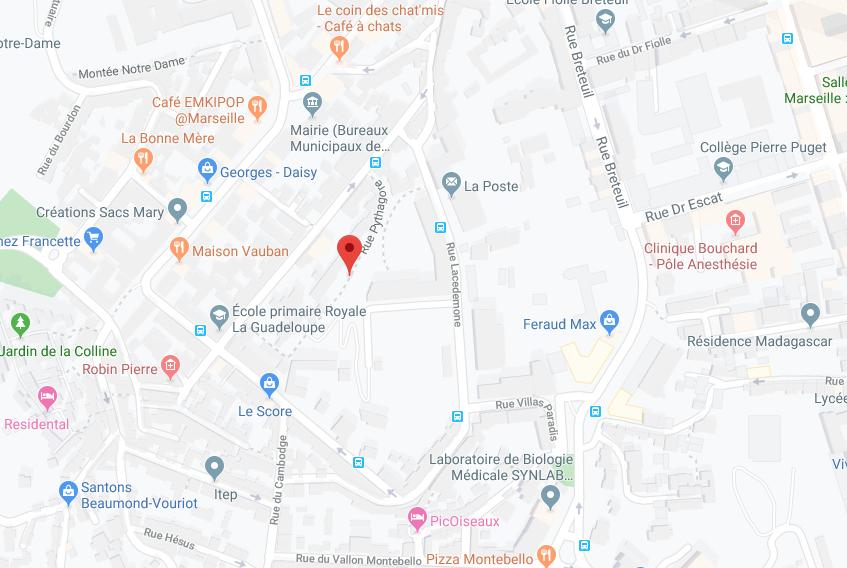 APRÈS SURENCHÈRE : APPT DE 27,39 M2 ET MOITIÈ INDIVISE DE LA GRANDE CAVE AU SOUS SOL À MARSEILLE (13006)