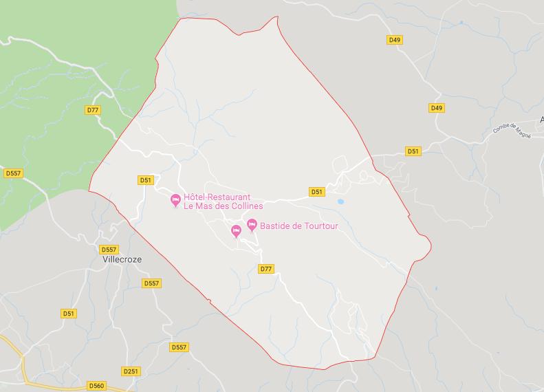 VENTE EN 2 LOTS - LOT 1 : PETITE MAISON ÉLEVÉE DE 2 ETAGES SUR RDC ENVIRON 34 M2 À TOURTOUR