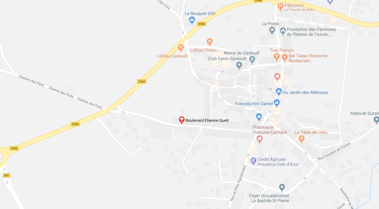 SUR LICITATION : MAISON ÉLEVÉE DE 2 ETAGES SUR RDC À GAREOULT