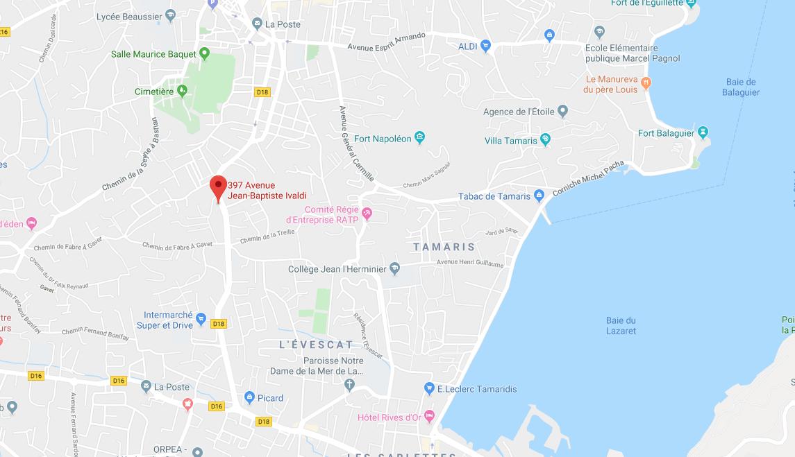 APPT DE TYPE DUPLEX DE 55,46 M2 ET EMPLACEMENT DE PARKING EXTERIEUR À LA SEYNE SUR MER