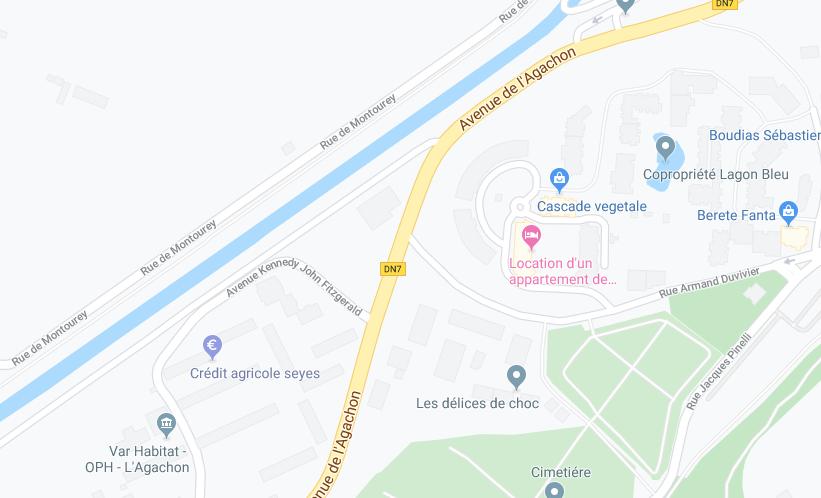 STUDIO AU 2EME ETAGE DE 24,83 M2 DANS RESIDENCE AVEC PISCINE À FREJUS