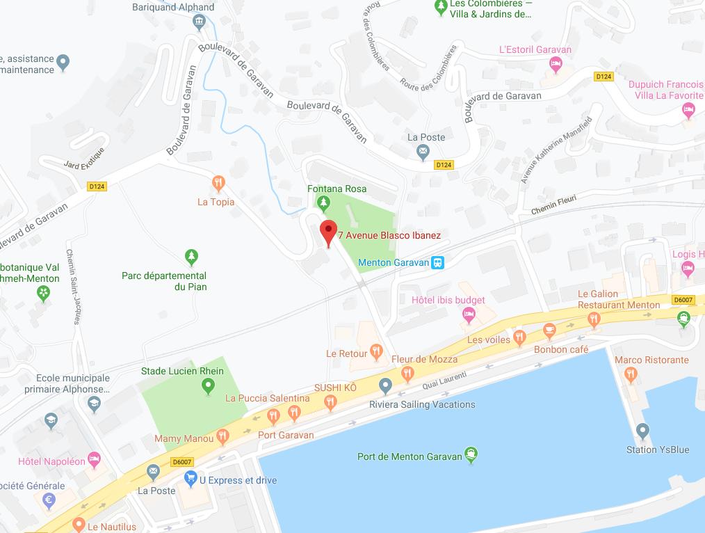 STUDIO EN RDJ AVEC TERRASSE PRIVATIVE À MENTON