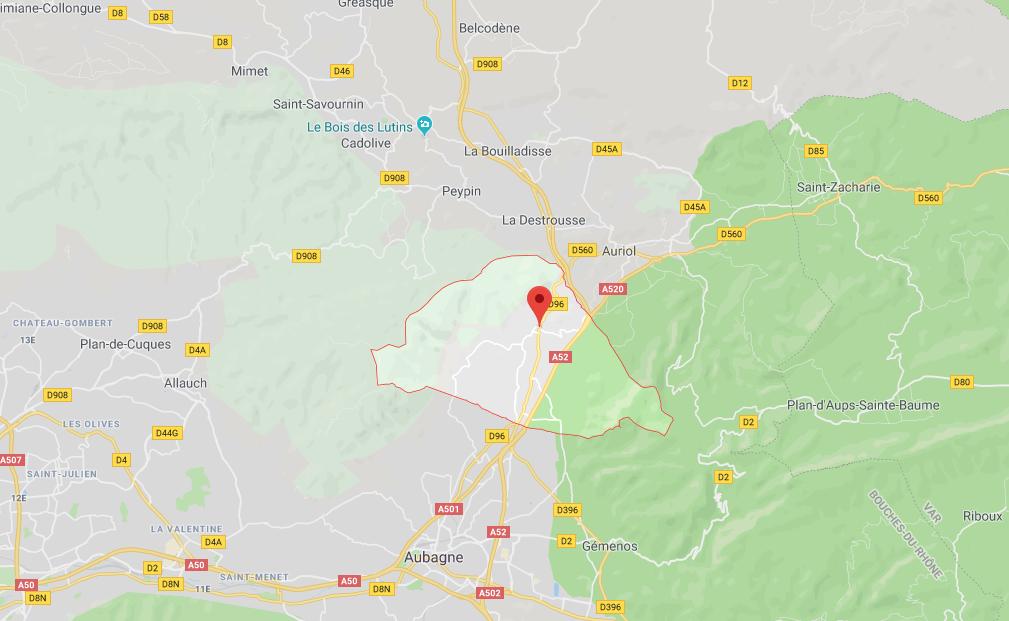 APPT SITUÉ AU 1ER ETAGE DE 32,14 M2 À ROQUEVAIRE (13360)