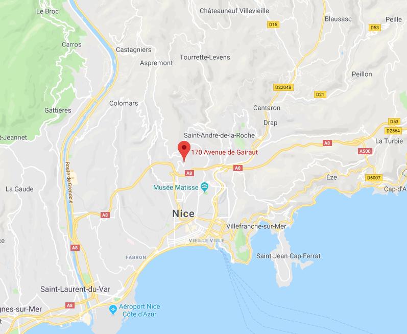 APRÈS SURENCHÈRE : UN GRAND TERRAIN NON BÂTI COMPOSÉ DE 6 PARCELLES DE TERRE AVEC VUE MER À NICE