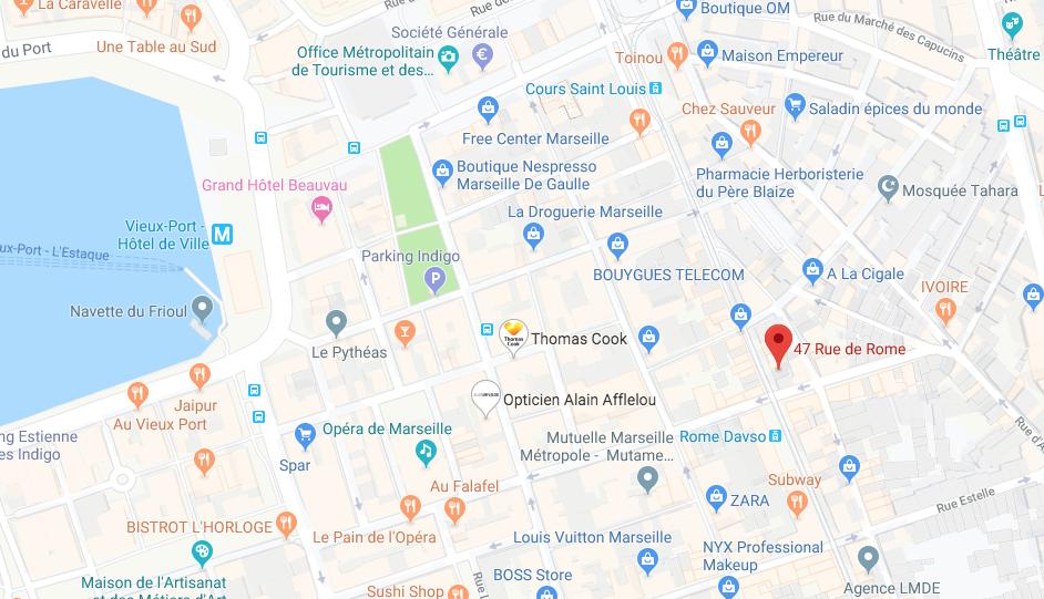 APPT DE 37,73 M2 ET UN WC AU 5EME ETAGE À MARSEILLE