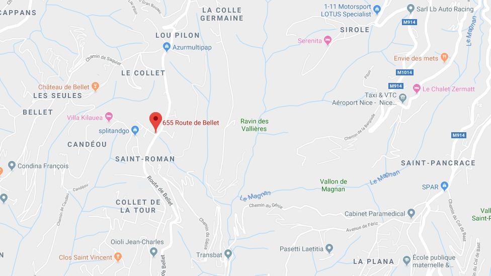 APRÈS SURENCHÈRE : CONSTRUCTION INACHEVÉE DE 367,45 M2 ET 2 PARCELLES DE TERRE À NICE (ROUTE DE BELLET)