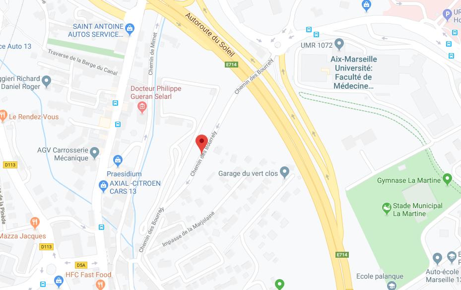 APPT DE TYPE 4 DE 61,60 M2, CAVE ET BOX GARAGE À MARSEILLE (13015)